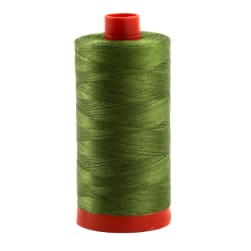 Aurifil Quilting Thread 50wt Grass Green