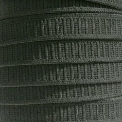 3/4'' No Roll Elastic Black
