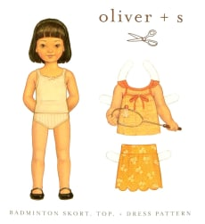 Oliver + S Badminton Skort, Top + Dress 5-12