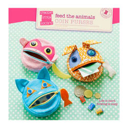 Straight Stitch Society Feed the Animals Coin Purse Pattern