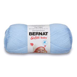 Bernat Softee Baby Yarn (02002) Pale Blue