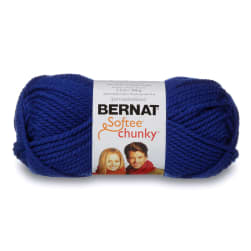 Bernat Softee Chunky Yarn (28134) Royal Blue