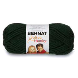 Bernat Softee Chunky Yarn (28237) Dark Green