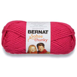 Bernat Softee Chunky Yarn (28416) Hot Pink
