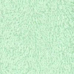 Terry Cloth Mint Fabric