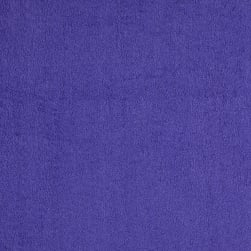 Terry Cloth Purple Fabric