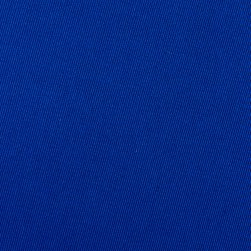 Poly/Cotton Twill Fabric Royal Blue