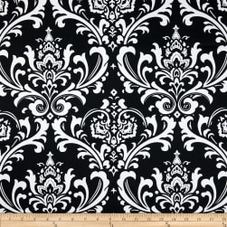 Premier Prints Ozborne Black/White Fabric