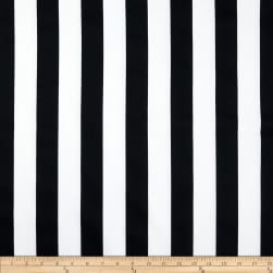 Premier Prints Canopy Stripe Black Fabric