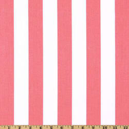 Premier Prints Canopy Stripe Baby Pink Fabric