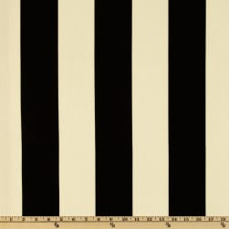 Premier Prints Indoor/Outdoor Vertical Stripe Ebony