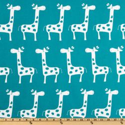 Premier Prints Gisella True Turquoise Fabric