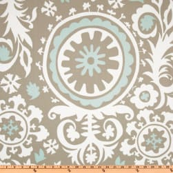 Premier Prints Suzani Twill Powder Blue