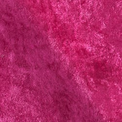Stretch Panne Velvet Velour Fuchsia