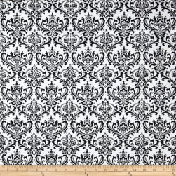 Premier Prints Madison Black/White Fabric