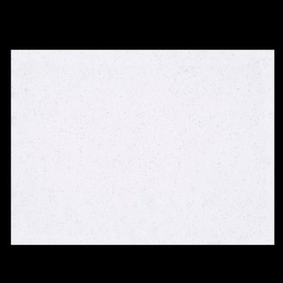 "Glitter Felt 9"" x 12"" Craft Cut White"