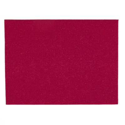 "Glitter Felt 9"" x 12"" Craft Cut Fuchsia"