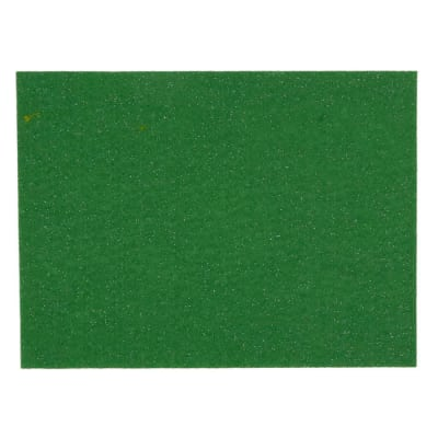 "Glitter Friendly Felt 9"" x 12"" Craft Cut Apple Green"