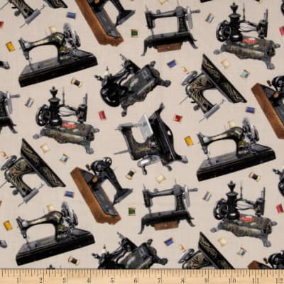 Stitch In Time Sewing Machine Cream