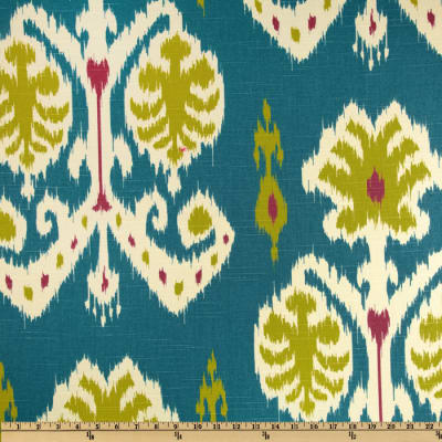 Home Accents Caftan Ikat Peacock Blue