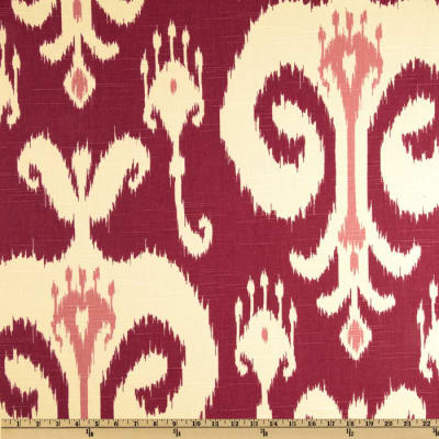 Home Accents Himalaya Ikat Raspberry