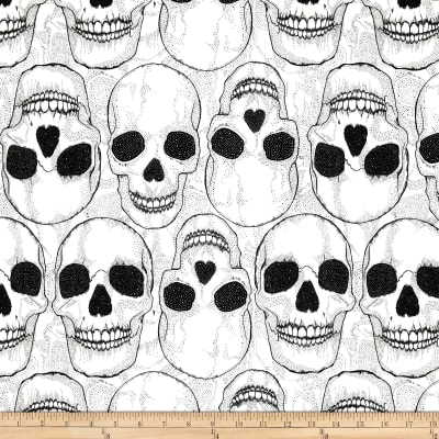 Yorik Skulls Natural/Black