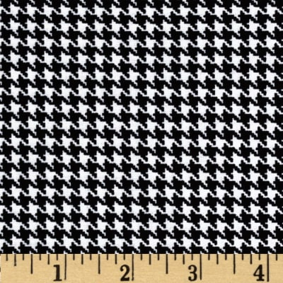 Kanvas Great Scotts Houndstooth White