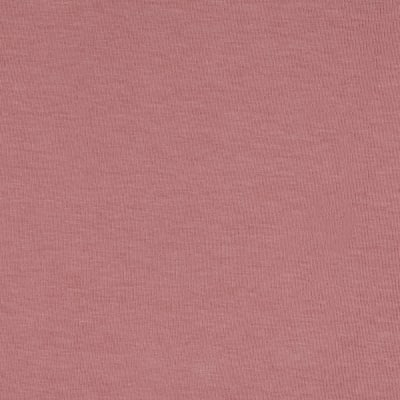 Stretch Cotton Interlock Knit Rose