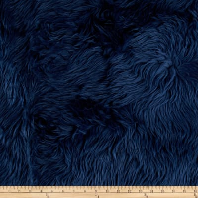 Shannon Faux Fur Luxury Shag Navy