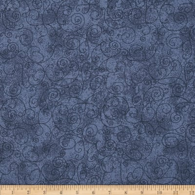 "110"" Wide Flannel Willow Blue"