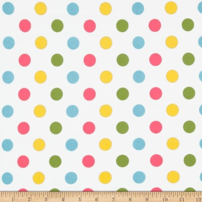Riley Blake Medium Dots Flannel Girl