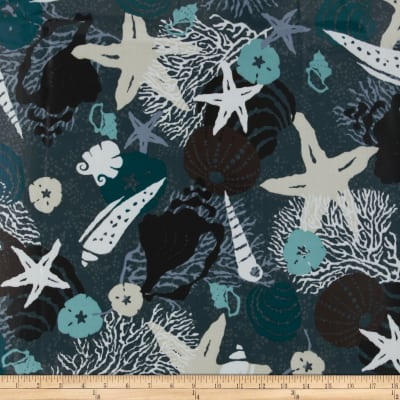 High Tide Laminated Cotton Shells Grey/Multi
