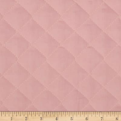 Double Sided Quilted Broadcloth Soft Pink