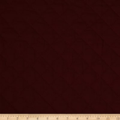 Double Sided Quilted Broadcloth Burgundy
