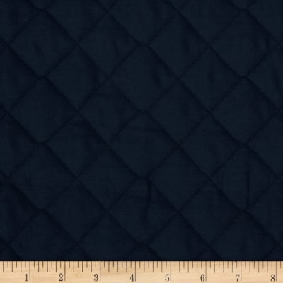 Double Sided Quilted Broadcloth Navy