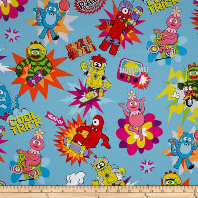 Yo Gabba Gabba Large Toss Blue
