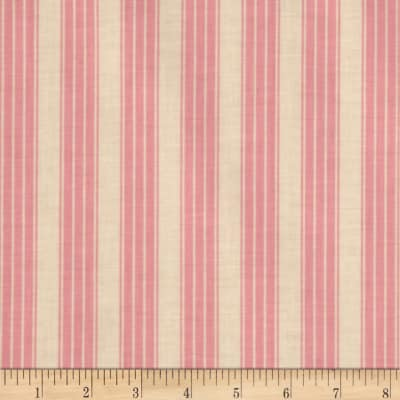 Pirouette Vintage Ticking Stripe Pink