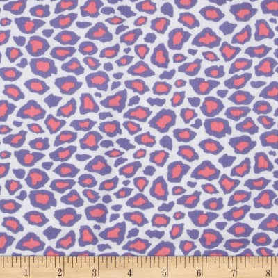 Metro Living Leopard Blossom Pink