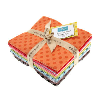 Riley Blake Basics Dots Fat Quarters