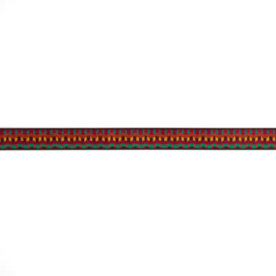 "7/8"" Laura Foster Nicholson Earthen Stripes Ribbon Multi"