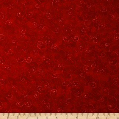 Moda Marble Swirls Flag Red