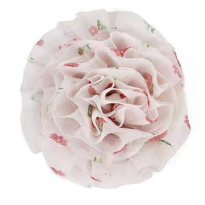 "3-1/4"" Large Prairie Flower Applique Rose"