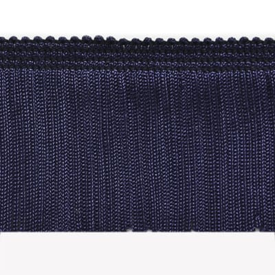 "2"" Chainette Fringe Trim Navy Blue"