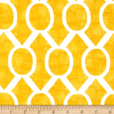Premier Prints Sydney Slub Corn Yellow