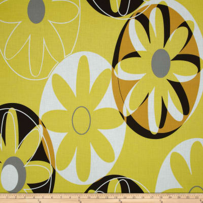 Cotton Lawn Flowers Yellow