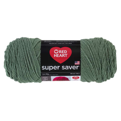 Red Heart Super Saver Yarrn 631 Light Sage