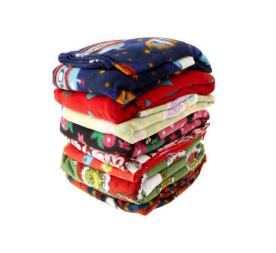 Five Pound Printed Fleece Remnant Assortment