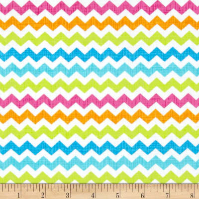 Timeless Treasures Ziggy Small Chevron Candy Multi