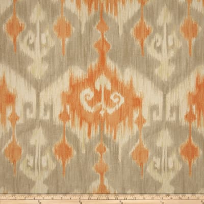 Richloom Marlena Ikat Orange
