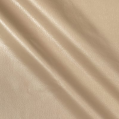 Flannel Backed Faux Leather Deluxe Mushroom